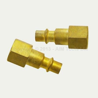Air Compressor, One Click Hose Connector, Quick Coupler, 2Pcs. 230231