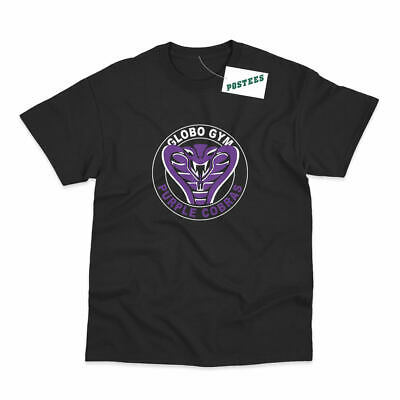 Globo Gym Purple Cobras Inspired by Dodgeball Movie Printed T-Shirt