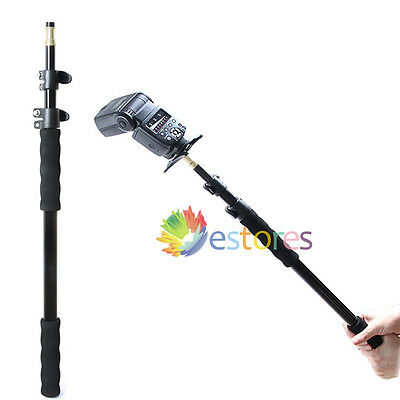 158cm Extension Telescopic Rod Stand Pole For Studio Flash Light Microphone