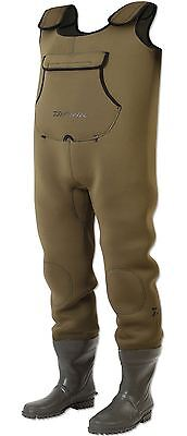 Daiwa Endura Neoprene Fishing Chest Waders DENC All Sizes Free Post RRP £89.99