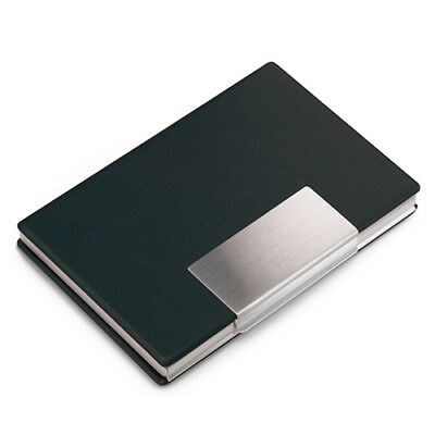 Aluminium Business or Credit Card Case/Holder with Vinyl Cover BCC125