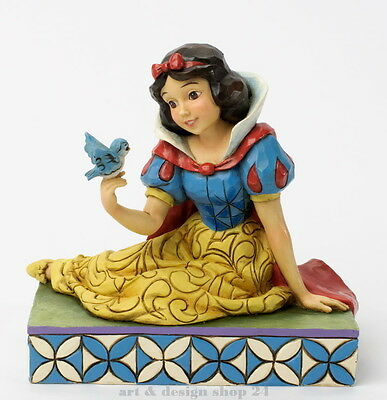 "DISNEY-Skulptur - ""SNOW WHITE & BIRD"" Schneewittchen - Jim Shore Figur 4037512"
