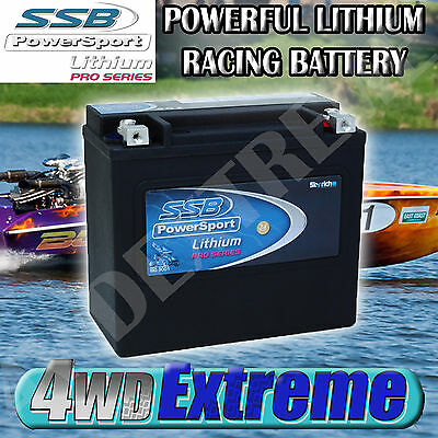 Race Car Battery 12V Lithium Pro Series 2.5 Kg L-Hvt-1 Racing Boat Car Sealed