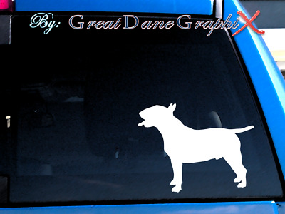 Bull Terrier #2 Vinyl Decal Sticker / Color Choice - HIGH QUALITY
