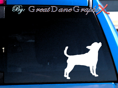 Chihuahua #4 Vinyl Decal Sticker / Color Choice - HIGH QUALITY