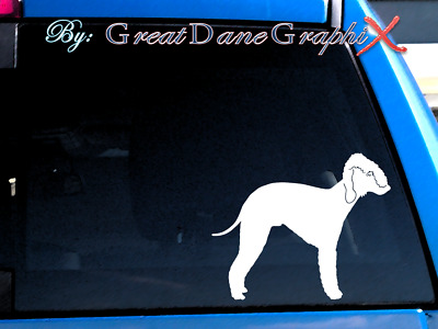 Bedlington Terrier #2 Vinyl Decal Sticker / Color Choice - HIGH QUALITY