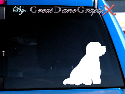 Bichon Frise #2 Vinyl Decal Sticker / Color Choice - HIGH QUALITY