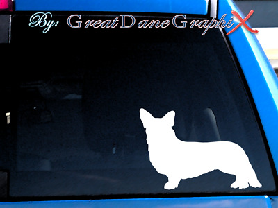 Cardigan Welsh Corgi #1 Vinyl Decal Sticker / Color Choice - HIGH QUALITY