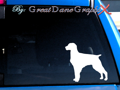 Brittany Vinyl Decal Sticker / Color Choice - HIGH QUALITY