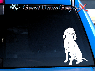 Bluetick Coonhound #1 Vinyl Decal Sticker / Color Choice - HIGH QUALITY