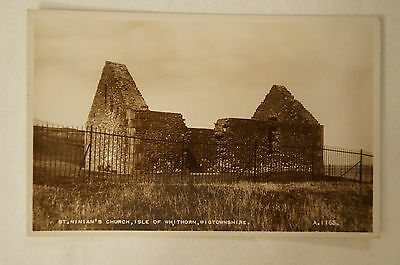 St. Ninian's Church - Isle of Whithorn - Wigtownshire - Vintage - Postcard.