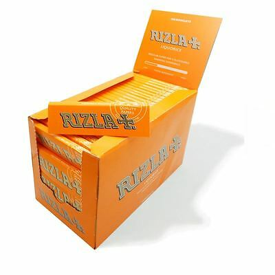 Rizla Liquorice Cigarette Smoking Rolling Papers Made in Belgium 100% Genuine