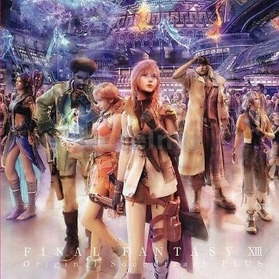 New 1143 FINAL FANTASY XIII 13 Original Soundtrack - PLUS CD Music