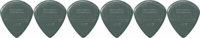 6 x Jim Dunlop Max Grip Jazz 3 Carbon Fiber Gauge Guitar Picks *NEW* Jazz III