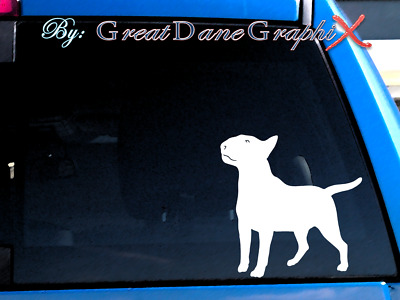 Bull Terrier #1 Vinyl Decal Sticker / Color Choice - HIGH QUALITY