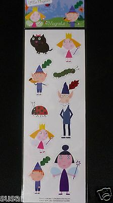 Ben and Holly's Little Kingdom Magnets Set of 9 Character Magnets,Brand New