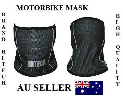 New HITECH Motorcycle Motorbike Wind Stopper Biker Mask Dust Face Mask Balaclava