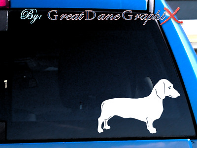 Dachshund Style #3 Vinyl Decal Sticker / Color Choice - HIGH QUALITY