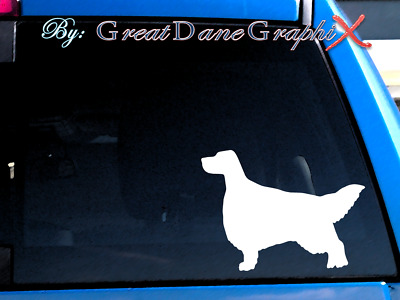 English Setter #2 Vinyl Decal Sticker / Color Choice - HIGH QUALITY