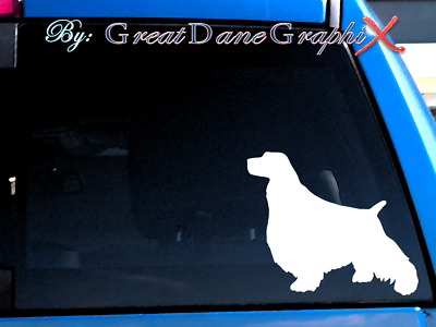 English Springer Spaniel - Vinyl Decal Sticker / Color Choice - HIGH QUALITY