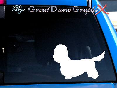 Dandie Dinmont Terrier Vinyl Decal Sticker / Color Choice - HIGH QUALITY