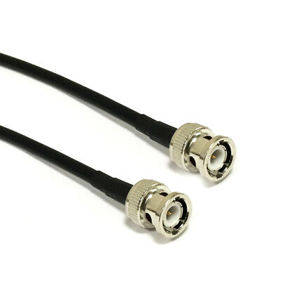 RG58 Coaxial Cable BNC male to BNC male M/M 50cm 20inch for CCTV video