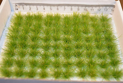 X-Large Grass Tufts - SELF ADHESIVE model scenery miniatures wargame Train oo