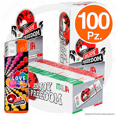 Cartine ENJOY FREEDOM CORTE 100 pz Small Size ITALIA - 2 Box