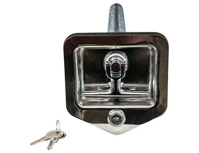 Buyers Products L8855, Single Latch Point Folding-T Handle Latch, w/Blind Studs
