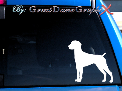 German Shorthaired Pointer #1 Vinyl Decal Sticker / Color Choice - HIGH QUALITY