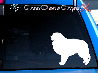 Great Pyrenees Vinyl Decal Sticker / Color Choice - HIGH QUALITY