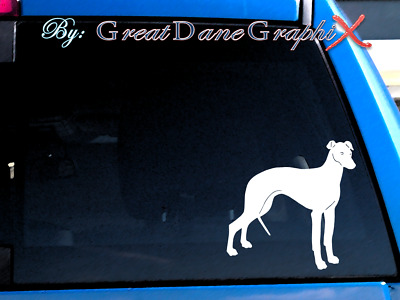 Whippet #2 Vinyl Decal Sticker HIGH QUALITY Color Choice