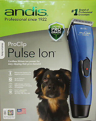 Andis ProClip Pulse Ion Cordless Clipper RBC #68205