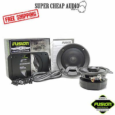 "New Fusion Cp-Fr4020 4 "" 180W Performance Series 2 Way Coaxial Speaker System"