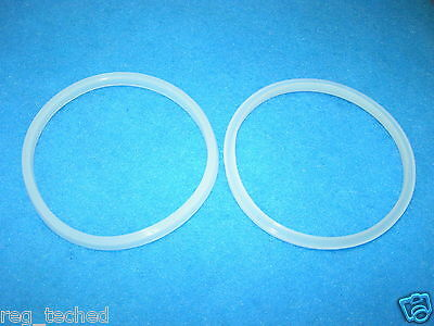 Lot of 2 Manual Sausage Stuffer Replacement Gasket Seal 3L 5L 7L MTN, LEM,others