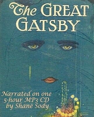 The Great Gatsby: a 5-hour MP3 CD Audio book & e-book