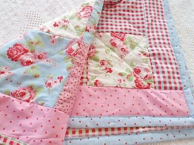 Patchwork Quilting Kit Cath Kidston Cot Baby Quilt Kit 100% Cotton Fabrics!