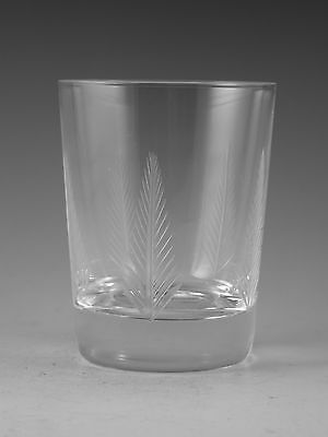 "STUART Crystal - WOODCHESTER Cut - Tumbler Glass / Glasses - 3 1/2"" (1st)"