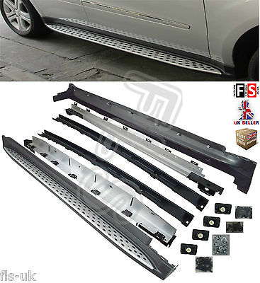 Mercedes Benz Ml W164 Luxury Oem Style Running Boards Side Steps  - Ly8020