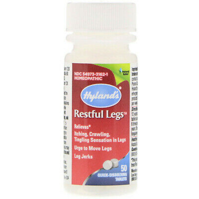 Restful Legs for Restless Leg Syndrome; x50tabs;- EFFECTIVE!!