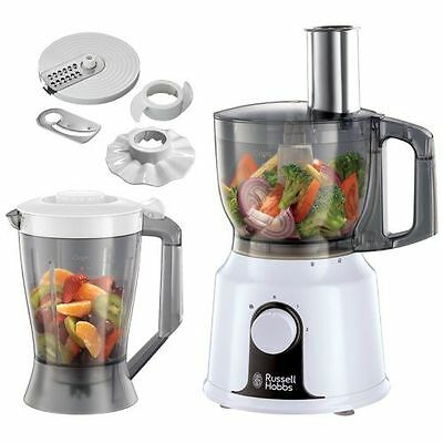 Russell Hobbs 500W 1.5 Litre Food Processor White 19001