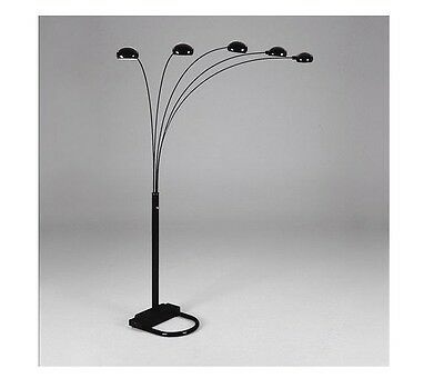 Spider Arc 5 Arm sofa Sectional Floor Lamp Available in Black Gold Silver White