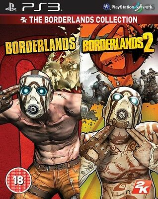 Borderlands 1 & 2 Collection PS3 * NEW SEALED PAL *