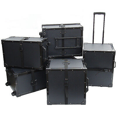 "TuffBox Accessory Road Case w/Retractable Handle - ID 19"" x 19"" x 15"" High"