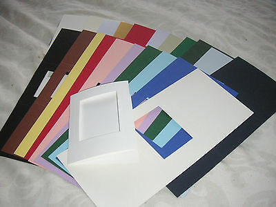 C6 APERTURE CARD BLANKS WITH GREETING rounded arch aperture