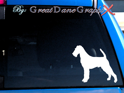 Irish Terrier - Vinyl Decal Sticker / Color Choice - HIGH QUALITY
