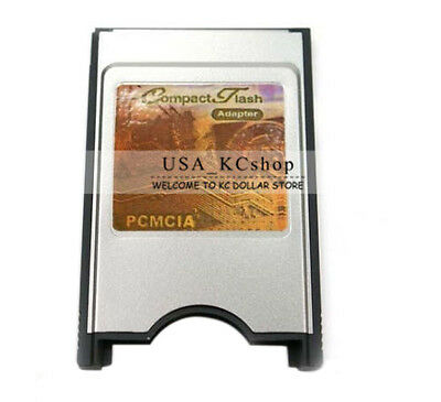 New PCMCIA Compact Flash CF Card Reader Adaptor for Laptop PC