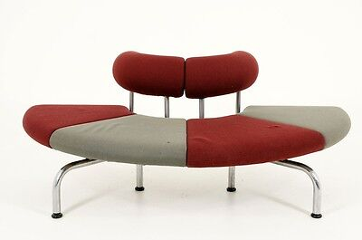 BFB SALE!  Danish Modern Pipeline Series Sofa Couch by Erik Jorgensen