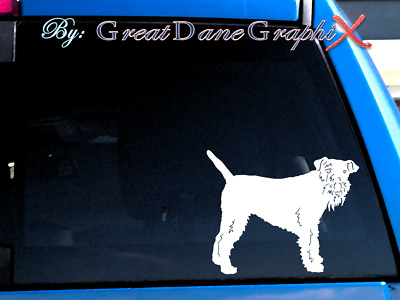 Lakeland Terrier #2 Vinyl Decal Sticker / Color Choice - HIGH QUALITY