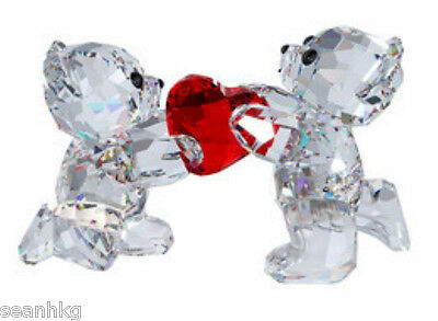 Swarovski Kris Bear - My Heart Is Yours, Love Crystal Figurine MIB - 1143463